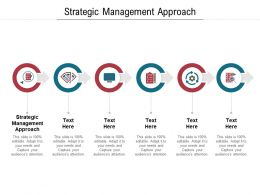 Strategic Management Approach Ppt Powerpoint Presentation Ideas Graphics Example Cpb