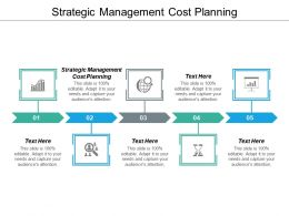 Strategic Management Cost Planning Ppt Powerpoint Presentation Outline Ideas Cpb