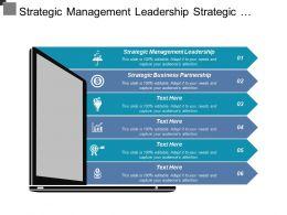 Strategic Management Leadership Strategic Business Partnership Asset Management Cpb