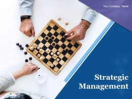 Strategic Management Powerpoint Presentation Slides