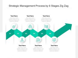 Strategic Management Process By 6 Stages Zig Zag