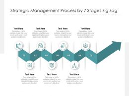 Strategic Management Process By 7 Stages Zig Zag