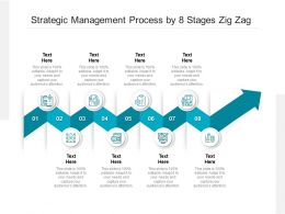 Strategic Management Process By 8 Stages Zig Zag