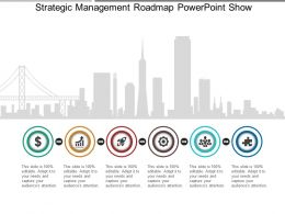 Strategic Management Roadmap Powerpoint Show