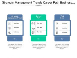 Strategic Management Trends Career Path Business Consulting Process Cpb