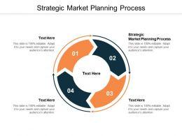 Strategic Market Planning Process Ppt Powerpoint Presentation Pictures Slideshow Cpb