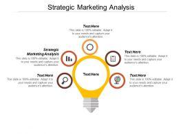 Strategic Marketing Analysis Ppt Powerpoint Presentation Icon Graphics Tutorials Cpb