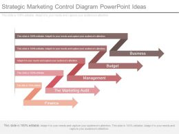 Strategic Marketing Control Diagram Powerpoint Ideas