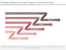 Strategic Marketing Control Diagram Powerpoint Ideas