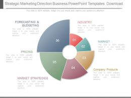 Strategic Marketing Direction Business Powerpoint Templates Download
