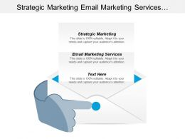 Strategic Marketing Email Marketing Services Business Promotion Strategies Cpb