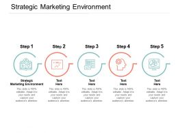 Strategic Marketing Environment Ppt Powerpoint Presentation File Smartart Cpb