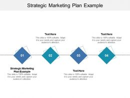 Strategic Marketing Plan Example Ppt Powerpoint Presentation Summary Brochure Cpb