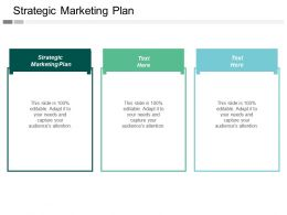 Strategic Marketing Plan Ppt Powerpoint Presentation Icon Background Images Cpb