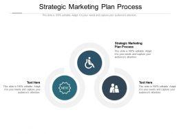 Strategic Marketing Plan Process Ppt Powerpoint Presentation Inspiration Professional Cpb