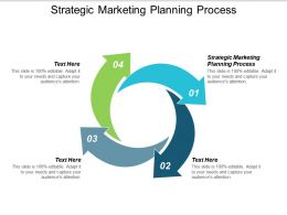 Strategic Marketing Planning Process Ppt Powerpoint Presentation Slides Clipart Images Cpb