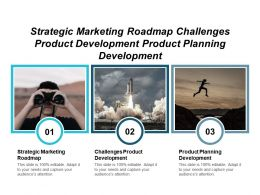 Strategic Marketing Roadmap Challenges Product Development Product Planning Development Cpb