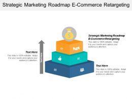 Strategic Marketing Roadmap E Commerce Retargeting Ppt Powerpoint Presentation Gallery Background Designs Cpb
