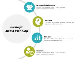 Strategic Media Planning Ppt Powerpoint Presentation Infographics Example Introduction Cpb