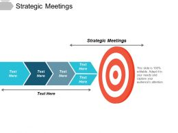 Strategic Meetings Ppt Powerpoint Presentation Show Master Slide Cpb