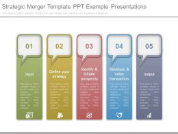 Strategic Merger Template Ppt Example Presentations