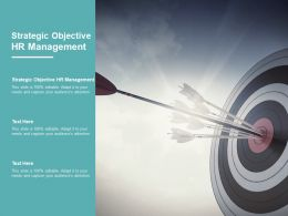 Strategic Objective HR Management Ppt Powerpoint Presentation Examples Cpb