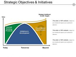 Strategic Objectives And Initiatives