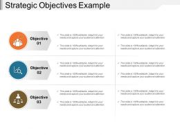 Strategic Objectives Example