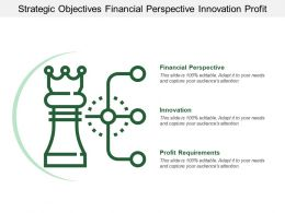 Strategic Objectives Financial Perspective Innovation Profit