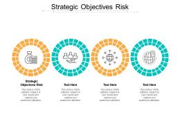 Strategic Objectives Risk Ppt Powerpoint Presentation Pictures Design Inspiration Cpb