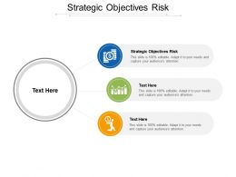 Strategic Objectives Risk Ppt Powerpoint Presentation Show Clipart Cpb