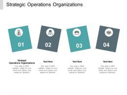 Strategic Operations Organizations Ppt Powerpoint Presentation Professional Master Slide Cpb