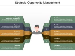 Strategic Opportunity Management Ppt Powerpoint Presentation Ideas Display Cpb