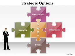 Strategic Options Powerpoint templates 0812 7
