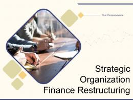 Strategic Organization Finance Restructuring Powerpoint Presentation Slides