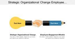 Strategic Organizational Change Employee Engagement Models Ceo Assessment Cpb