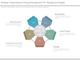 Strategic Organizational Change Management Ppt Background Images