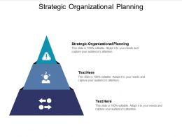 Strategic Organizational Planning Ppt Powerpoint Presentation Model Clipart Cpb