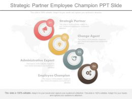Strategic Partner Employee Champion Ppt Slide