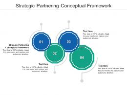 Strategic Partnering Conceptual Framework Ppt Powerpoint Presentation Infographic Template Cpb