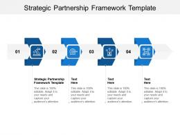 Strategic Partnership Framework Template Ppt Powerpoint Presentation Infographics Graphics Cpb