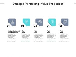 Strategic Partnership Value Proposition Ppt Powerpoint Presentation Inspiration Cpb