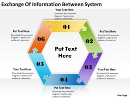 Strategic Plan Exchange Of Information Between System Powerpoint Templates PPT Backgrounds Slides