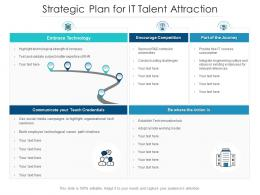 Strategic Plan For IT Talent Attraction