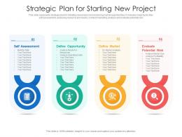 Strategic Plan For Starting New Project