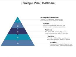 Strategic Plan Healthcare Ppt Powerpoint Presentation Ideas Themes Cpb