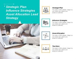Strategic Plan Influence Strategies Asset Allocation Lead Strategy Cpb