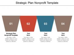 Strategic Plan Nonprofit Template Ppt Powerpoint Presentation Infographics Objects Cpb