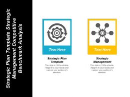 Strategic Plan Template Strategic Management Competitive Benchmark Analysis Cpb