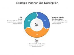 Strategic Planner Job Description Ppt Powerpoint Presentation Inspiration Objects Cpb